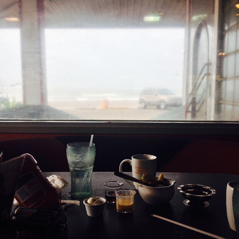 Breakfast view, Galveston, TX
