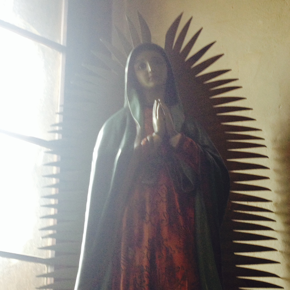 Madonna, San Jose Mission, San Antonio, Texas