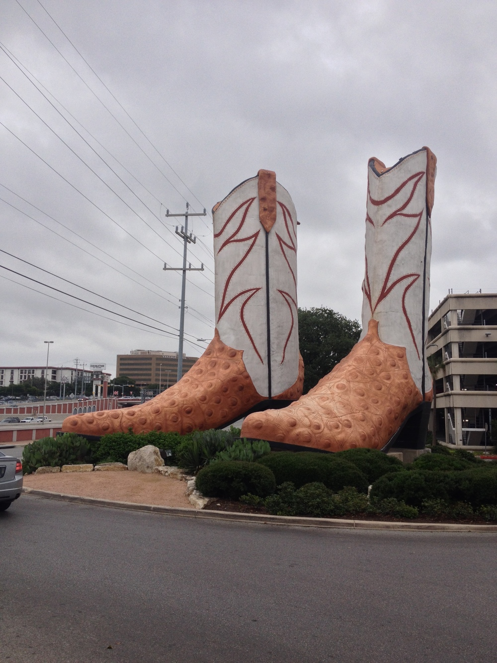 Largest Cowboy Boots in Texas, San Antonio