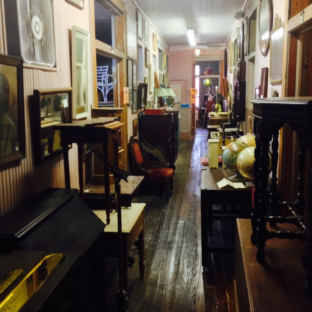 Antique Warehouse, Galveston TX