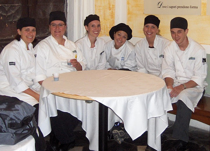 Culinary school trip to Asti, Italy. 2007