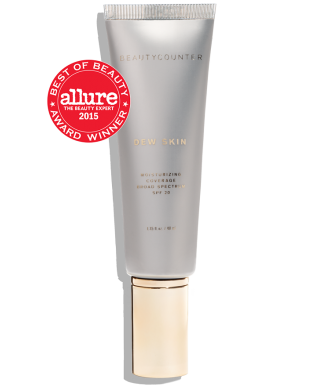 Dew Skin- tinted moisturizer with spf