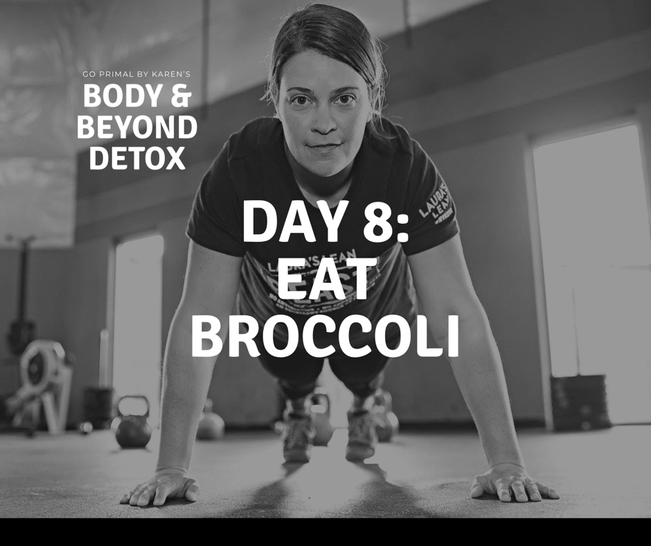 Make Cream of broccoli soup recipe (dairy-free) http://www.goprimalbykaren.com/blog/2015/2/11/paleo-cream-of-broccoli-soup