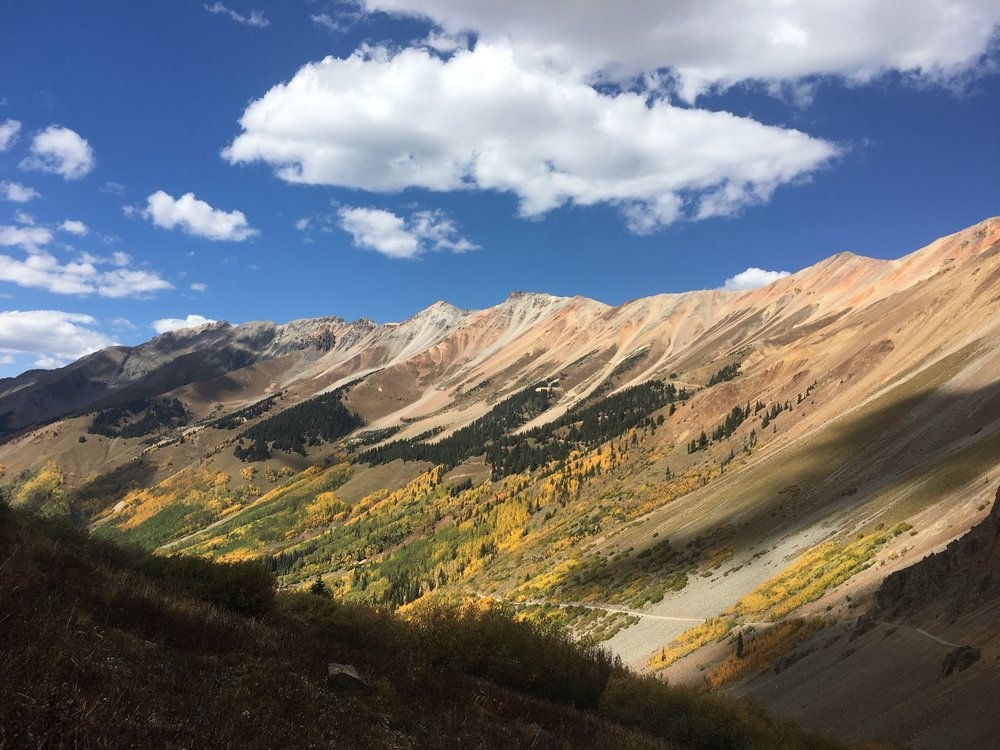 One of my favorite pics of 2018. We visited Telluride this Fall and caught all of the leaves changing.
