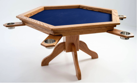 Furniture Makers, Boardgametables.com Have Released Two Tables For Your  Gaming Enjoyment. These Tables Feature Felt Lined Reliefs, Cup Holders And  Drawers ...