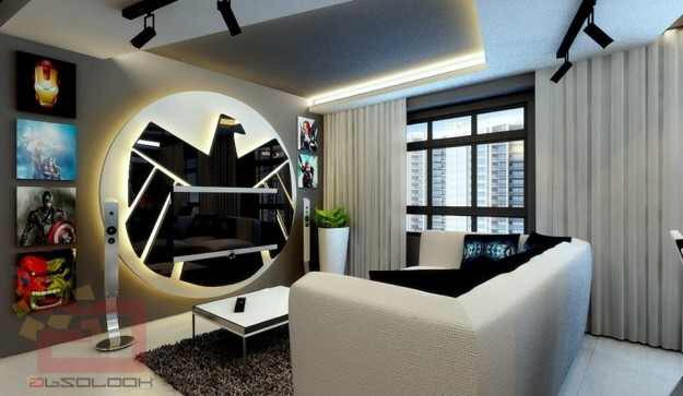 Avengers themed apartment is Earth s Mightiest Fan Cave. Living The Nerd Life   Avengers themed apartment is Earth s