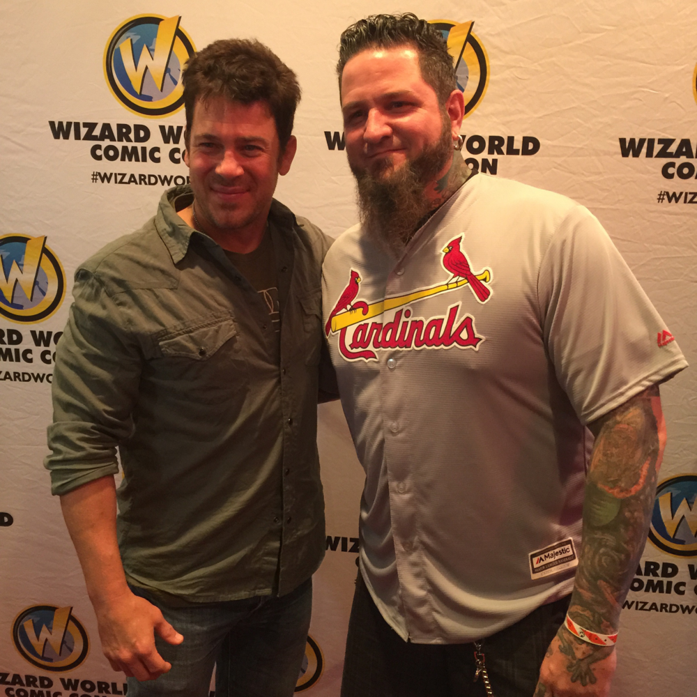 Christian Kane (Leverage and The Librarians) & Chris51 (Epic Ink)