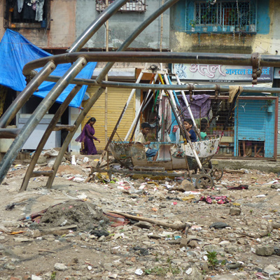 Playground in Dharavi