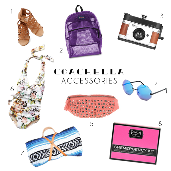 Coachella Essentials - Accessories - The FWORD Palm Springs