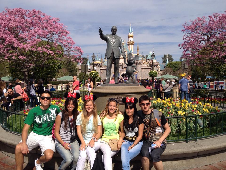 AFS Global Prep isn't all work and study! Global Prep students visit Disneyland