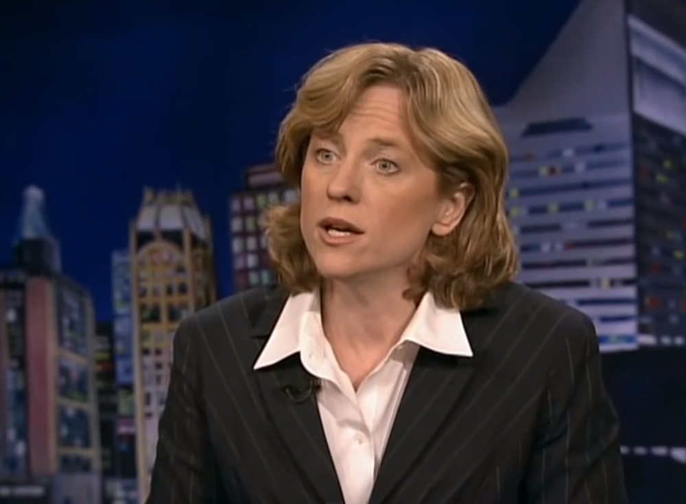 A federal judge dismissed a lawsuit filed by six former  Queens Library  Trustees against Queens Borough President  Melinda Katz , seen here in a 2009 interview.  Borough President Katz and Mayor  Bill de Blasio  had removed eight Trustees from their posts for having blocked reforms after a series of reports raised possible questions about governance and financial mismanagement.  Source :  CUNY TV 75/YouTube Screen Shot