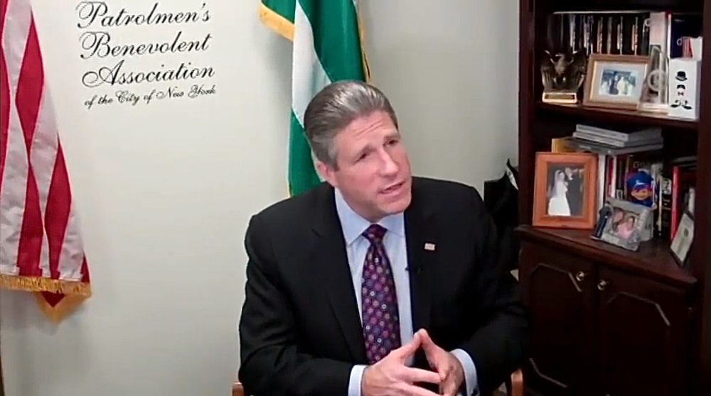 Patrolmen's Benevolent Association President  Patrick Lynch  demands an apology from Mayor  Bill de Blasio .  Mayor de Blasio does owe the NYPD an apology, but not for the reason that P.B.A. President Lynch demands.  Moreover, the NYPD owe New Yorkers an apology, too.  Source :  NYC PBA/YouTube Screen Shot