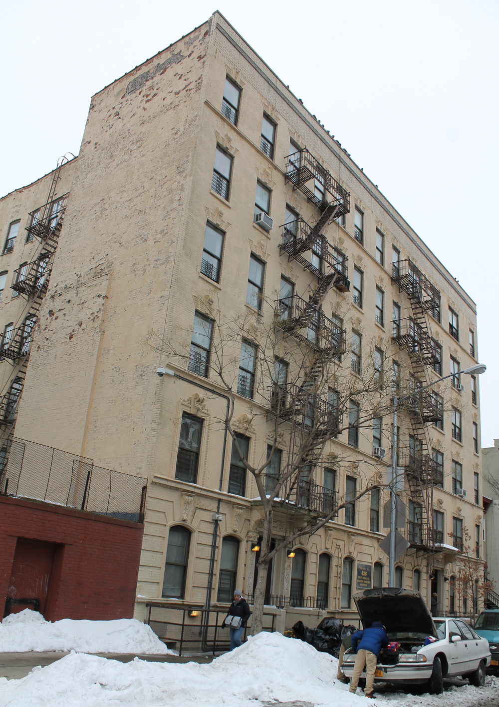 438 and 444 East 120th Street, as seen on March 3, 2015.  Source :  Louis Flores