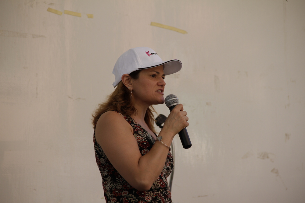 New York City Council Speaker  Melissa Mark-Viverito  at an August 2012 charity event for  Kars4Kids .  Source :  Kars4Kids/CC BY 2.0/Flickr