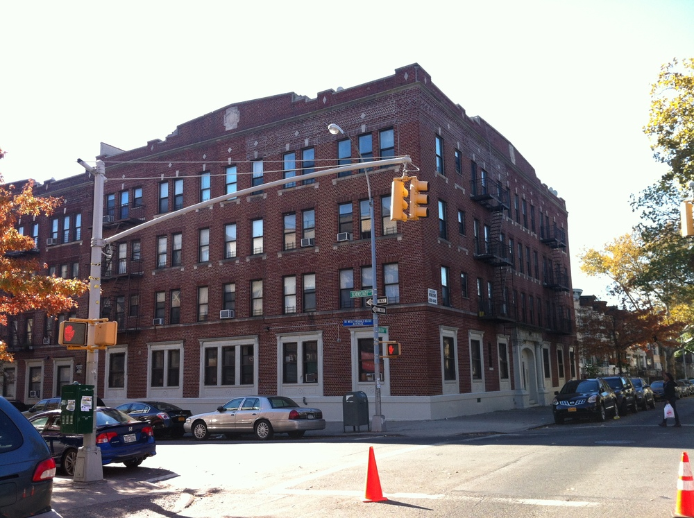 This apartment building, located at 1646 Union Street in Crown Heights, Brooklyn, is home to many tenants paying preferential rents to their landlord, Renaissance Realty.  The landlord has raised the rents on the tenants of rent-regulated apartments, in excess and in violation of orders issued by the Rent Guidelines Board, the regulatory body that caps the rate of rent increases for rent-regulated apartments in New York City.  Source :  Louis Flores/Progress Queens
