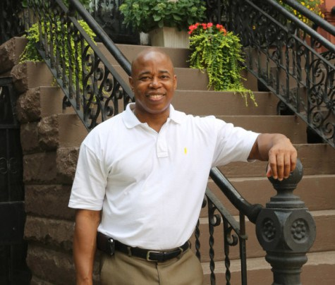 Borough President Eric Adams (D-Brooklyn) has accused his critics from the Black and Lainta/o community of racial insensitivity for questioning his neoliberal economic record. Source :  Brooklyn Borough President's Office/Official Photograph/Public Domain