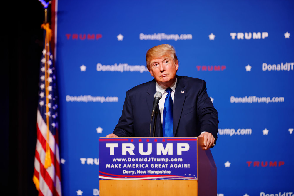 President-elect Donald Trump, appearing in 2015 at a town hall event at Pinkerton Academy in Derry, NH. President-elect Trump has not announced his plans for the leadership of the U.S. Attorney's Office in Brooklyn, now headed by U.S. Attorney Robert Capers. Source : Michael Vadon/Flickr (CC 2.0 Generic)