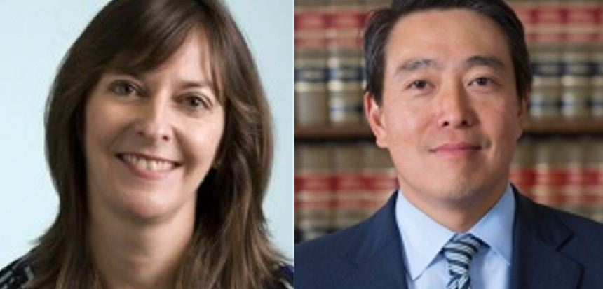 Acting U.S. Attorney  Bridget Rohde , left, and Acting U.S. Attorney  Joon Kim . Source : LinkedIn/Fair Use ; U.S. Attorney's Office/Public Domain