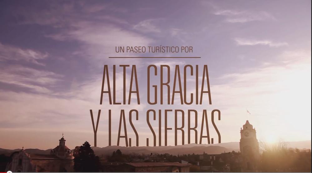 ALTA GRACIA  Y LAS SIERRAS CERCA DE TODO