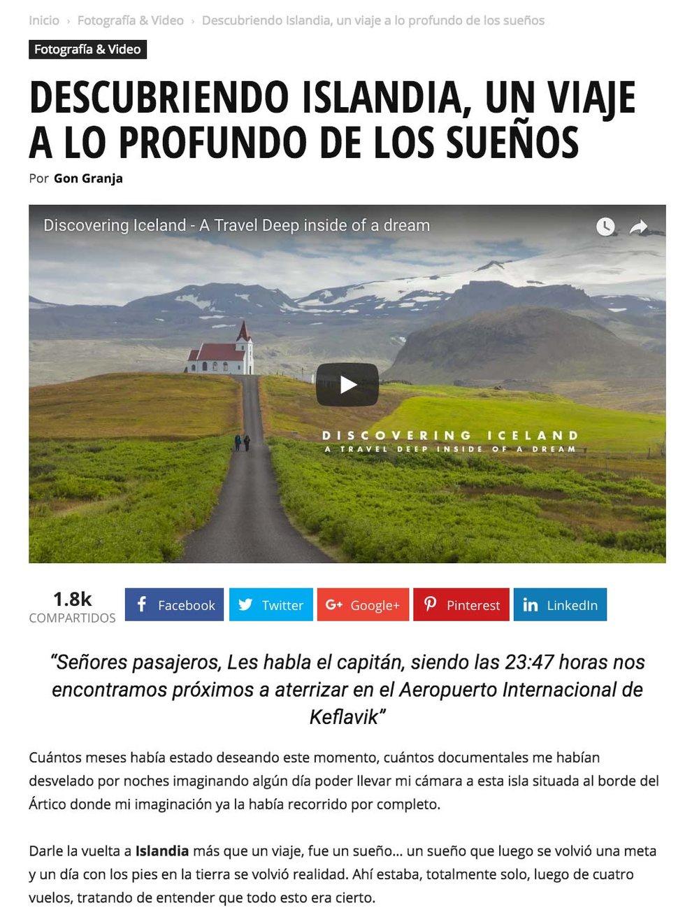 Reseña en Intriper - PLATAFORMA DE CONTENIDOS VIAJEROS DE LATAM