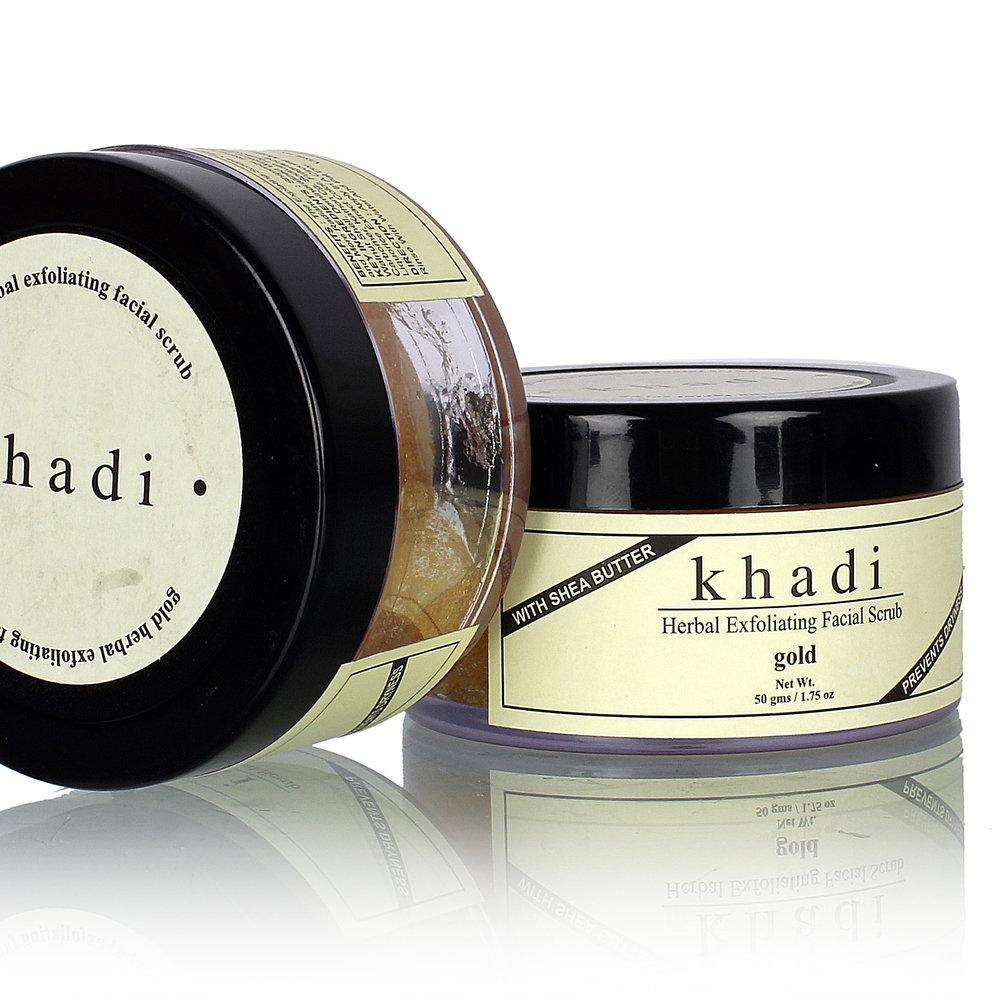 EXFOLIEZ & NOURRISSEZ VOTRE PEAU - Exfoliant Miel Amande pour visage naturel Khadi