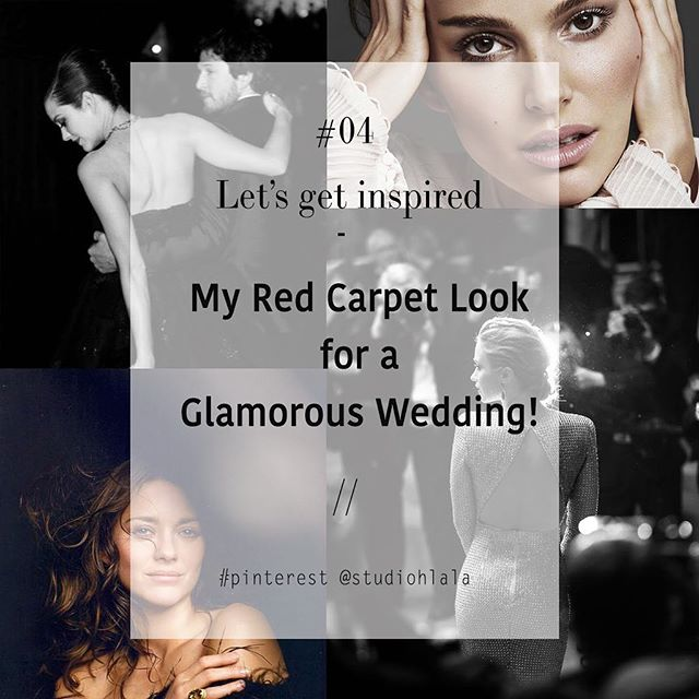 Our glamorous, luxurious and haute-couture red carpet  inspiration on Pinterest for your wedding - hope you a skinny month! // Let's get inspired! - link in bio 👆🏻 . . . #studiohlala #weddingcollective #weddingartistscollective #frenchartistscollective #fashion #mode #parisianlifestyle #inspiration #hair #makeup #wedding #bridal #hairstyle #luxurywedding #luxuryevents #moodboard #pinterest #hairstylist #makeupartist #grown #dress #suit #groom #bride @studiohlala #smp #bridalmakeup #bridalhair #bridaldress #springtime #livethelittlethings @pinterest