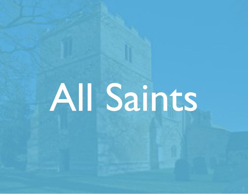Team Churches - All Saints
