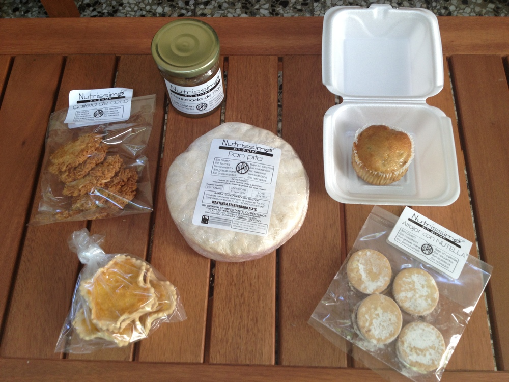 Gluten free goodies from the gluten free bakery