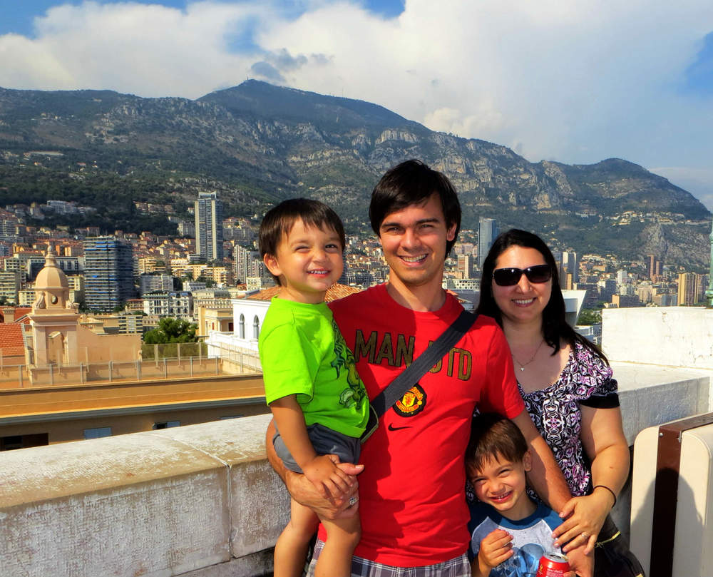 Family Photo Monaco
