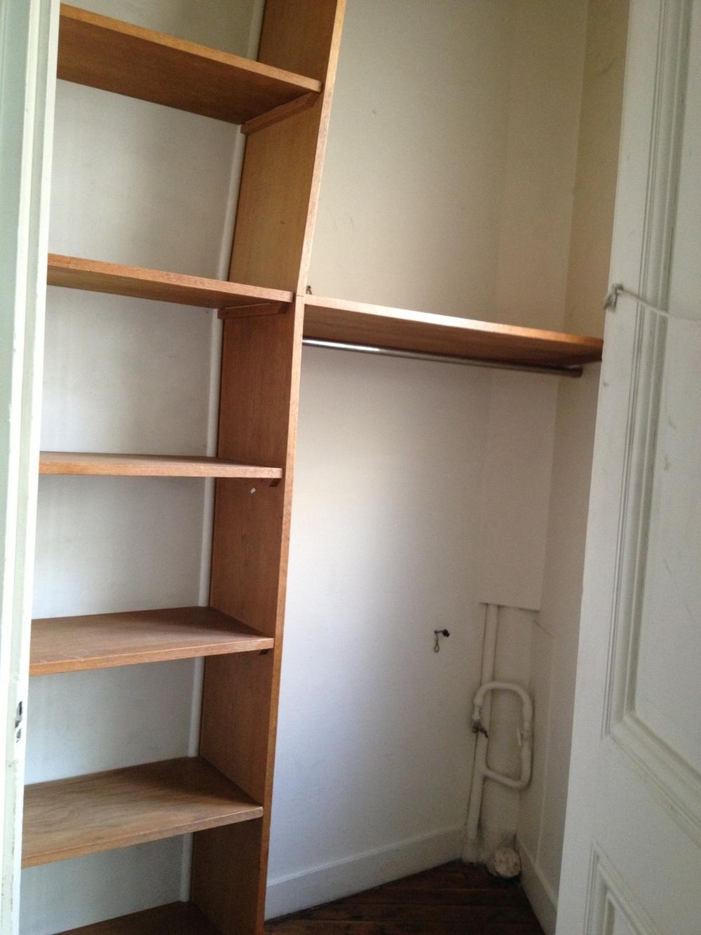 A Rare Built In Closet