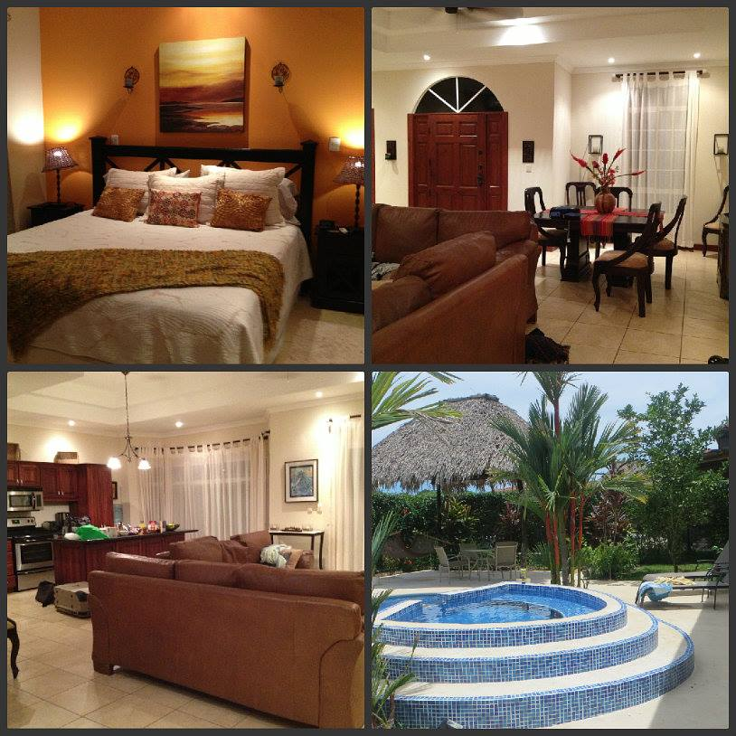 We have had some great luck with vacation rentals. This rental was in Costa Rica, and allowed us to stay in a house with a private pool for less than it would have cost just one of us for an all-inclusive holiday.