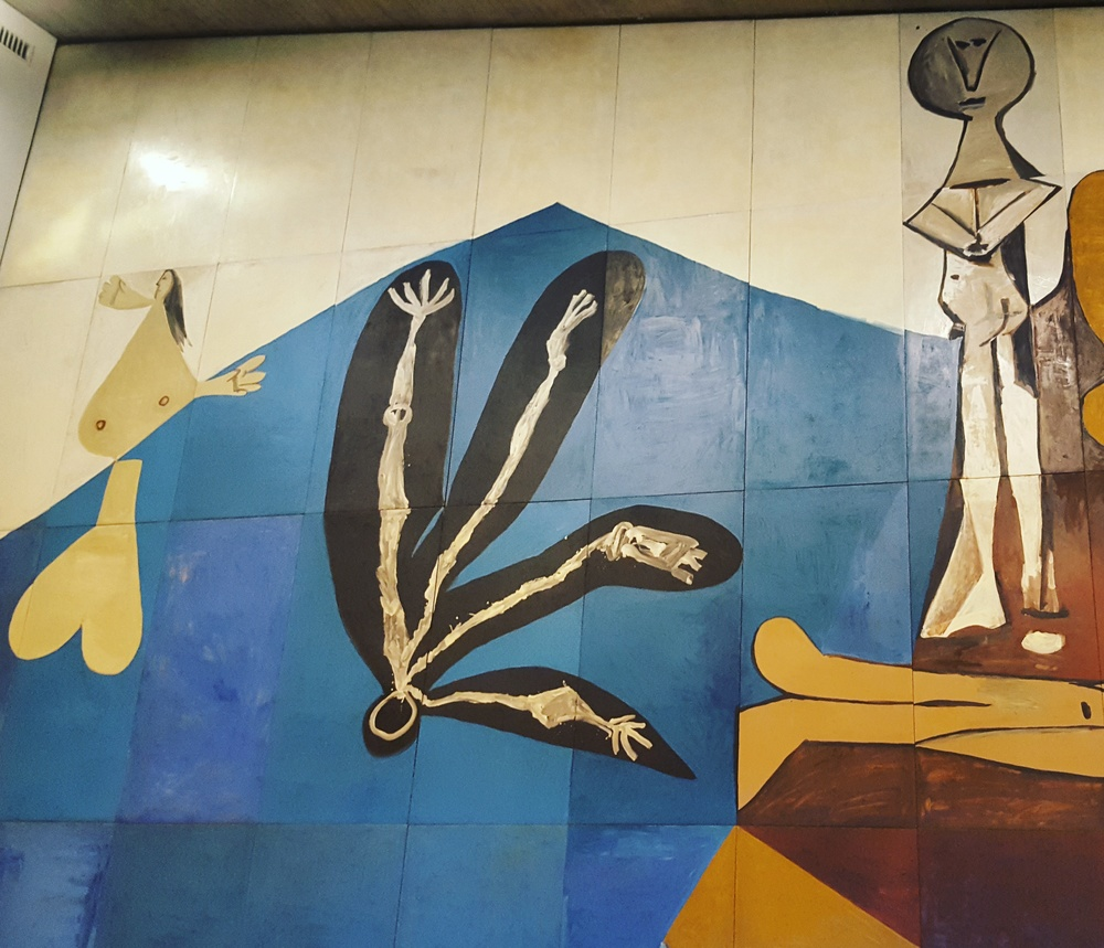 The Picasso Mural