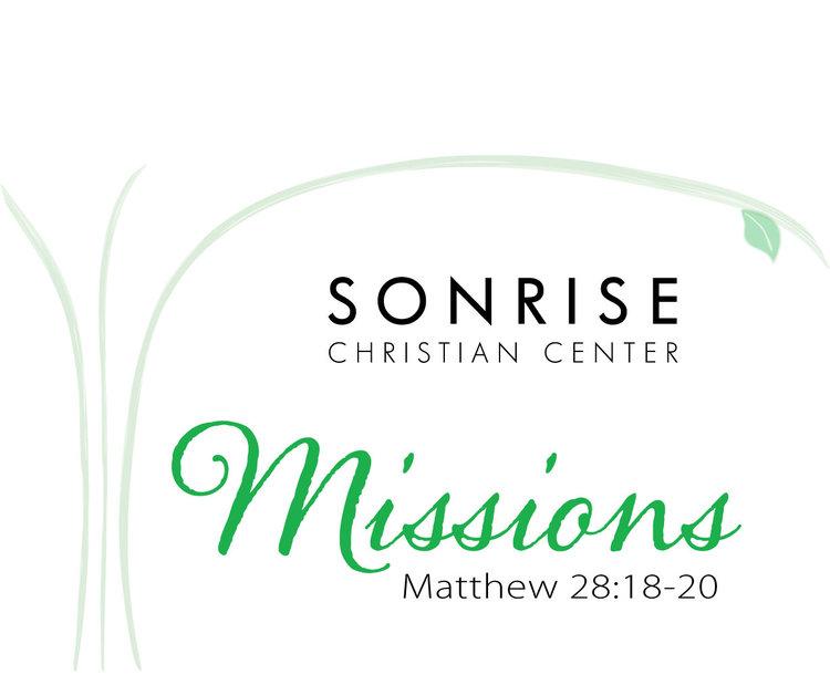 Logo design elisabeth ann designs sonrise christian center missions ministry logo m4hsunfo