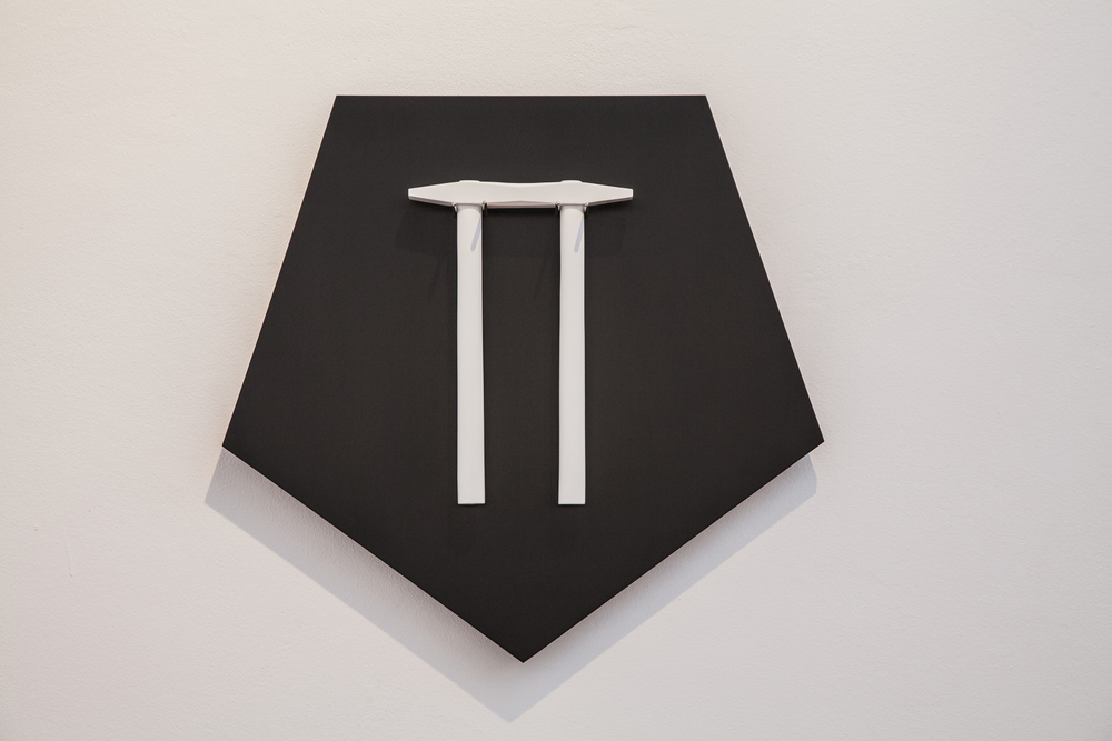TOOL (2013) RESIN/PAINT/WOOD/INOX 52 X 49 X 9 CM, UNIQUE PIECE