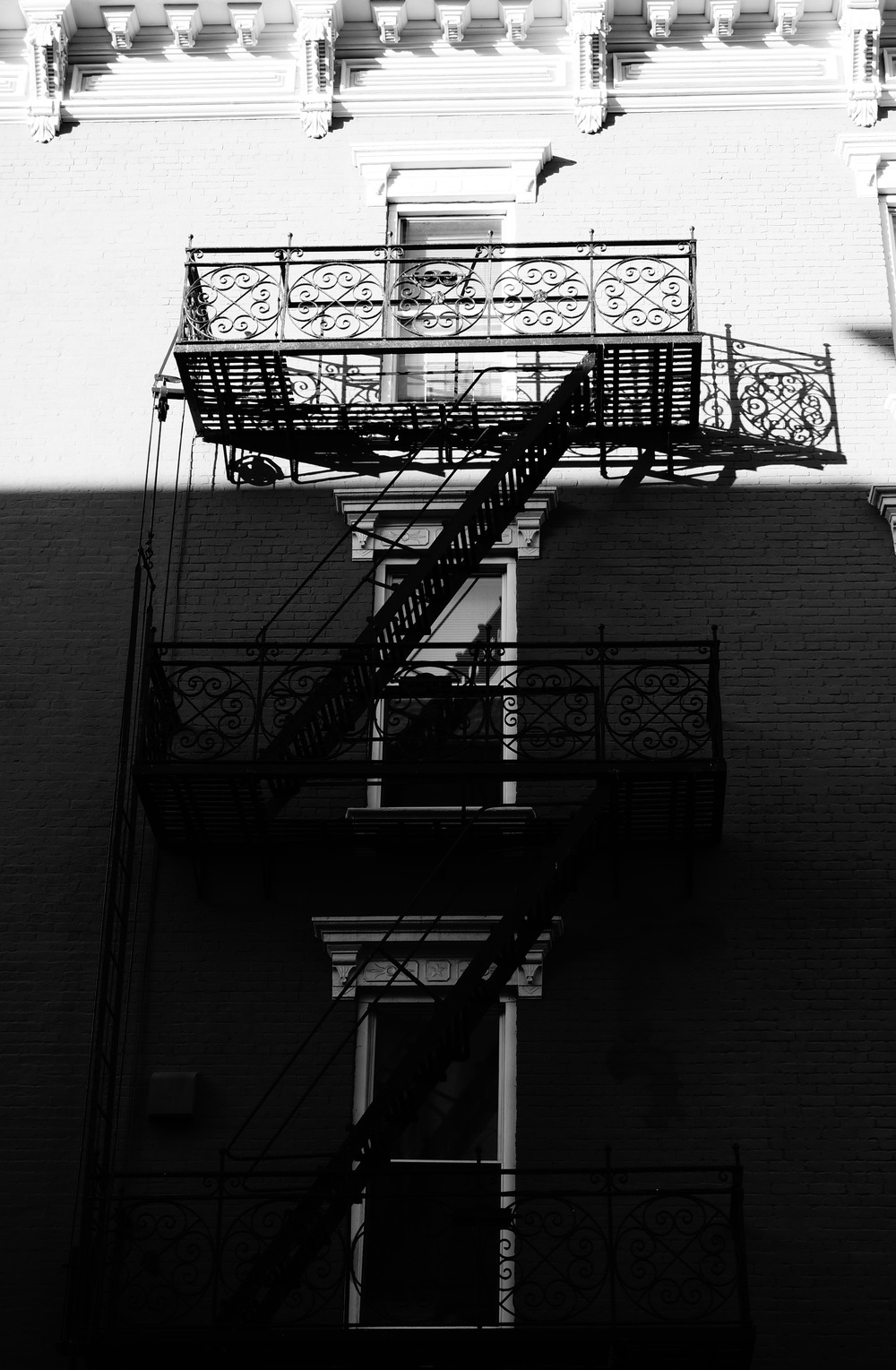 FIRE ESCAPE LADDER 24 (2014) PHOTO PRINT 160X110 CM EDITION 1/3