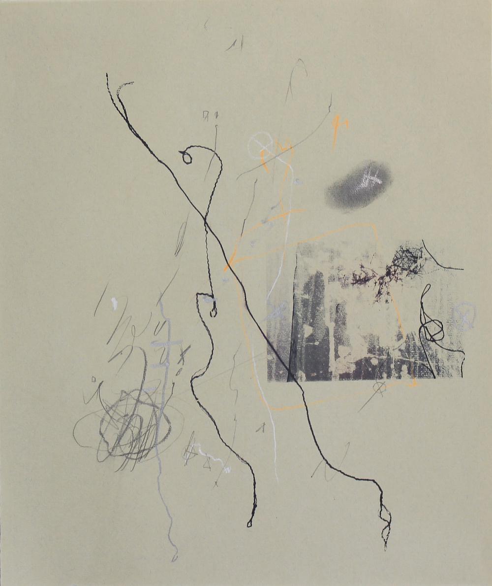 Noble Idioms 4 (1988) mixed media, 39 x 30 cm