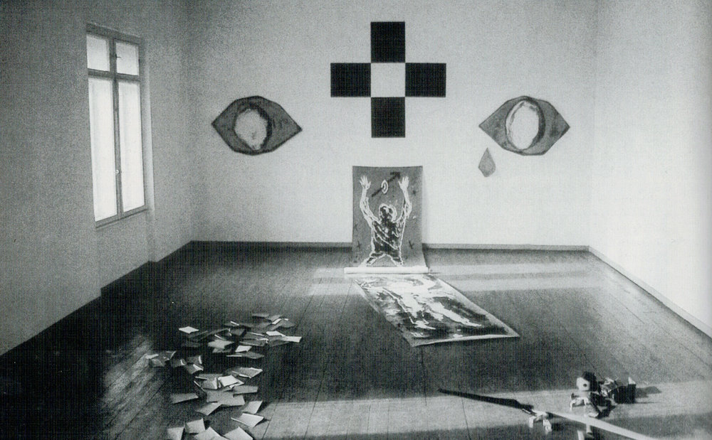 FOTO-EGO-TOT (HOMMAGE TO ULAY) (1986) installation