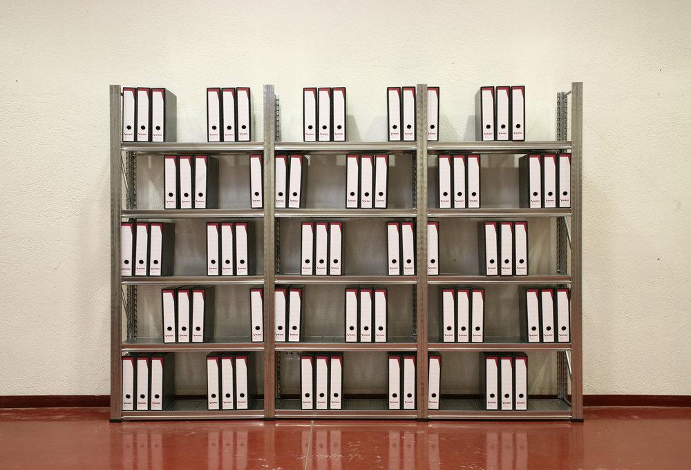 ARCHIVADORES EN ARCHIVO (2007) Stop-motion animation, 8:21 min