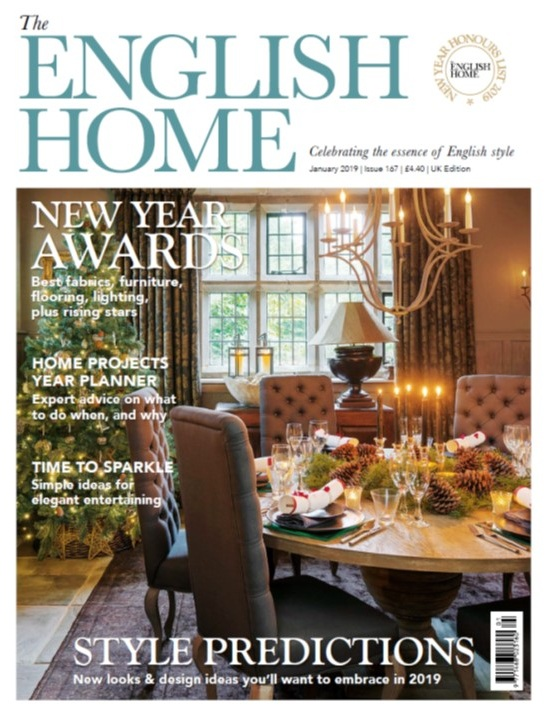 THE ENGLISH HOME JANUARY 2019
