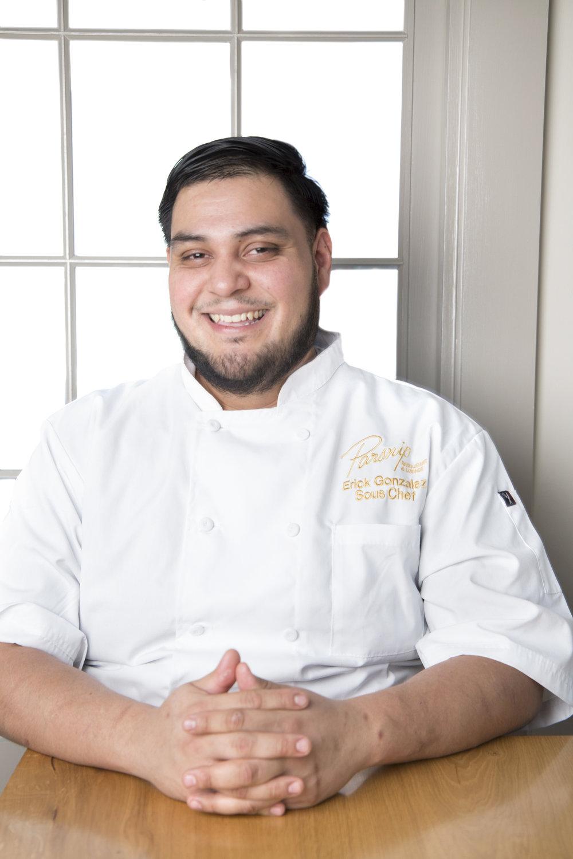 Sous Chef Erick Gonzalez at Parsnip.jpg