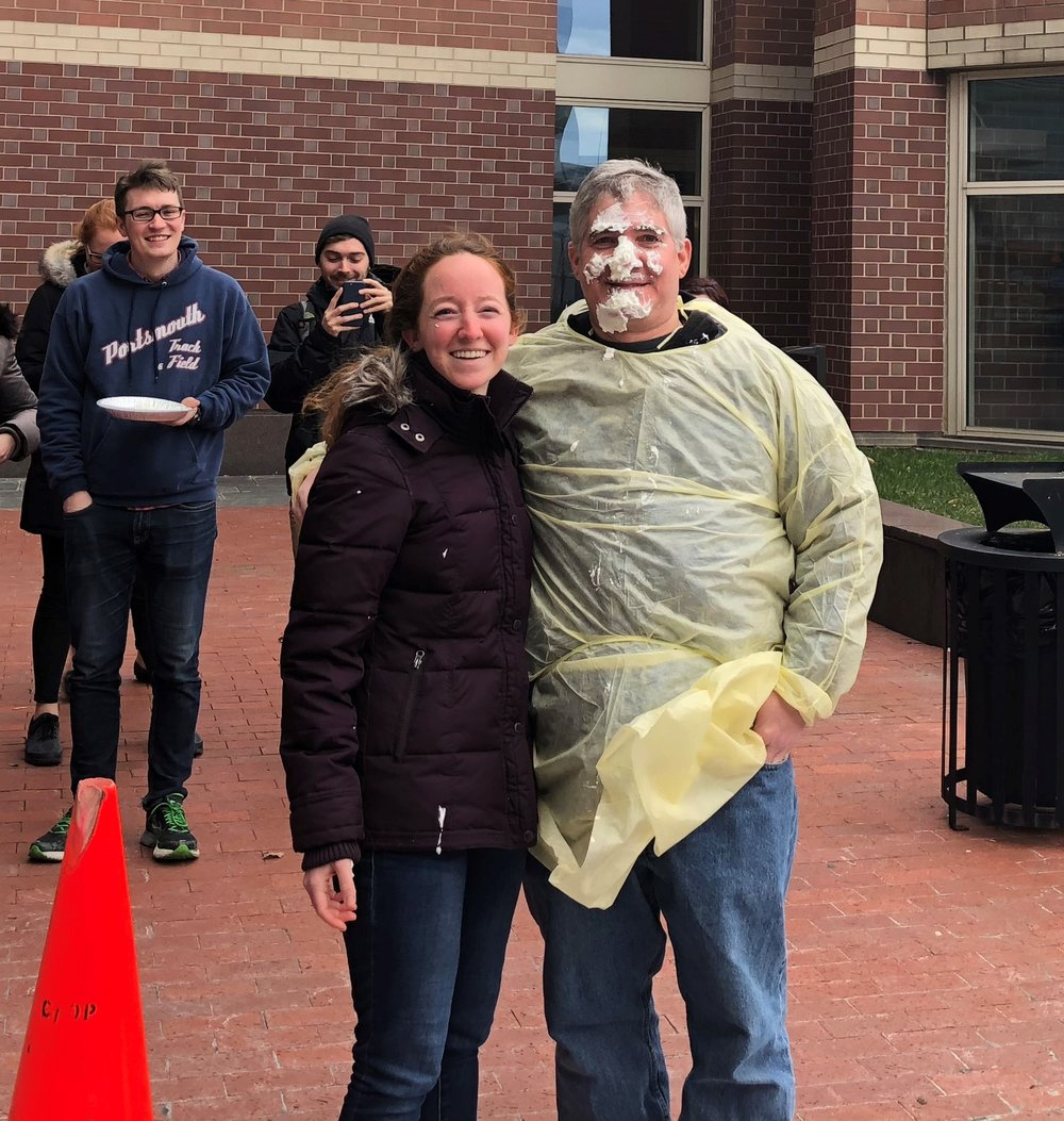 Craig Bassing pied by Laura Ritenour