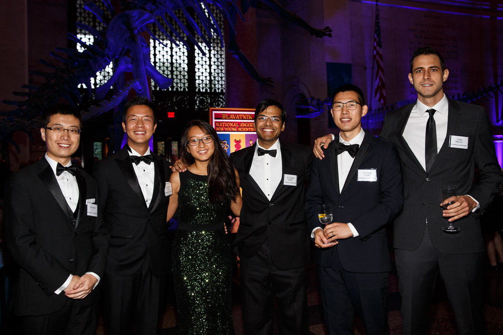 from left   Jinyang Li, Cedric Xia, Linda Zhou, Divyansh Agarwal, Edward Chuang, Kamen Simeonov    Photo by     Matt Gillis Photography    , provided courtesy of The New York Academy of Sciences