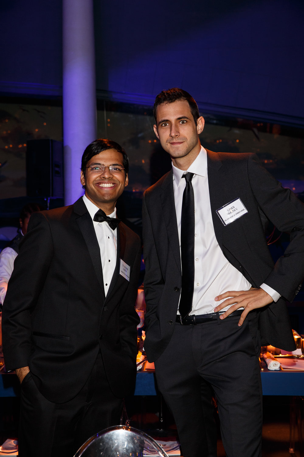 from left   Divyansh Agarwal and Kamen Simeonov