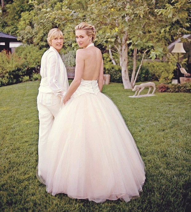 Portia De Rossi Wedding Gown: The Best Celebrity Wedding Dresses
