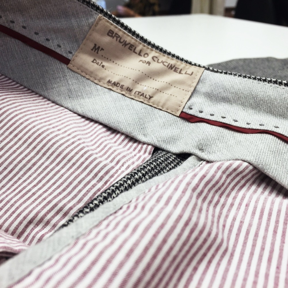 ... We faded to nothing at the seat and shortened the hem finishing as original.