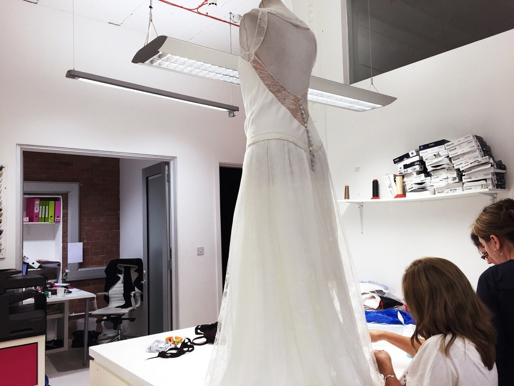 When To Get Your Wedding Dress Altered London Fitting Rooms