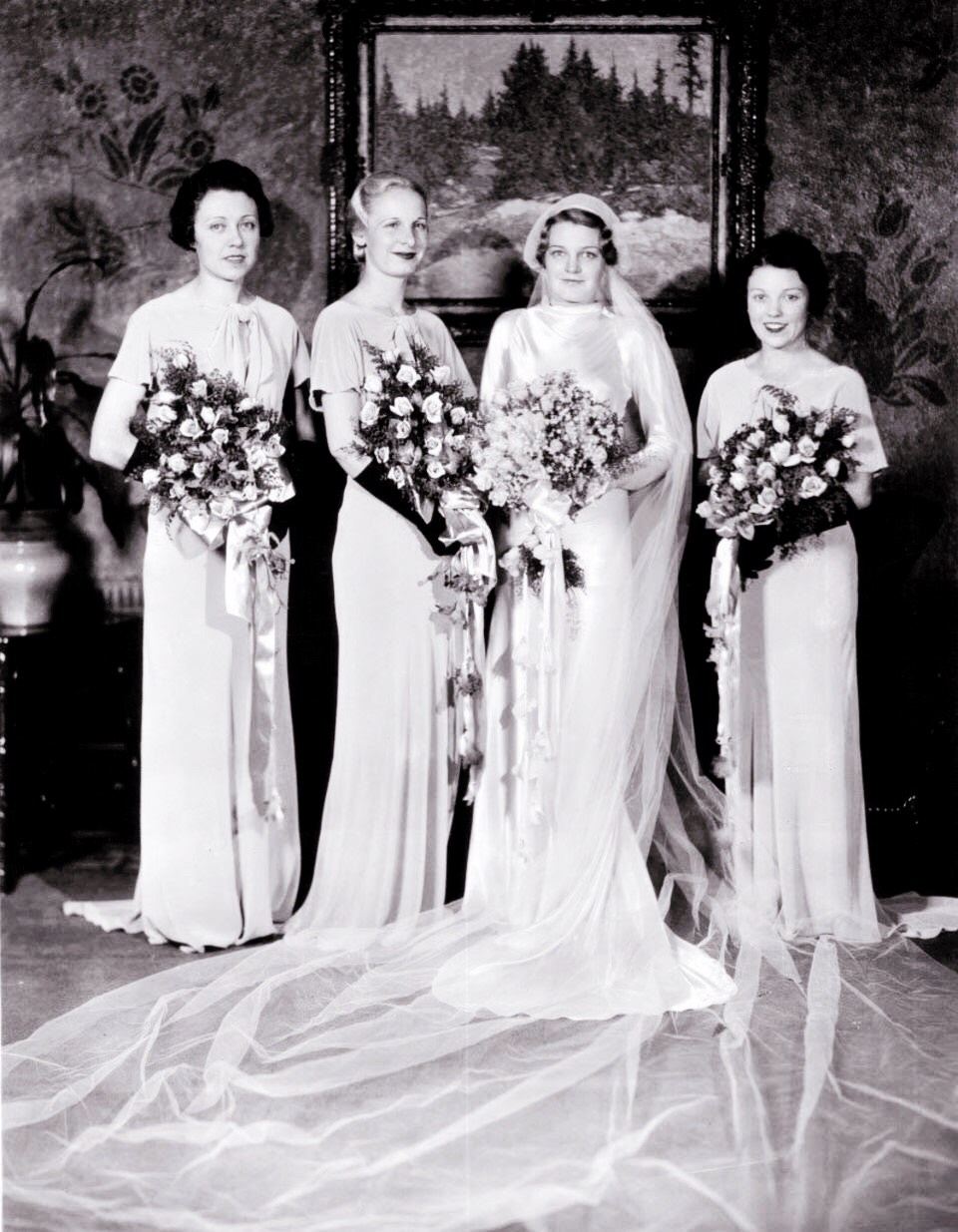 1930s Bridesmaid Dresses