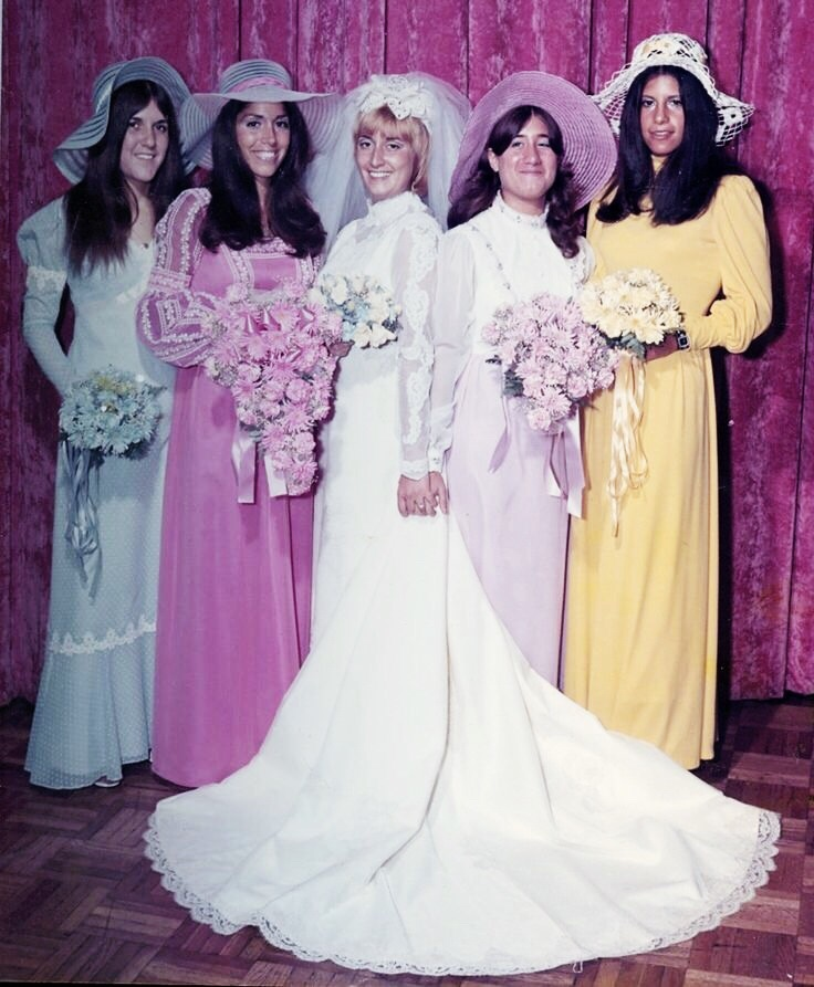 1970s Bridesmaid Dresses
