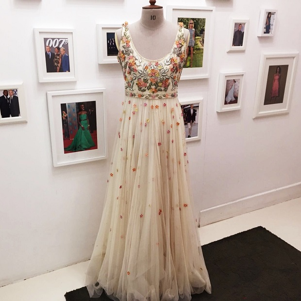 Alexander mcqueen floral dress alterations london for Wedding dress tailor near me