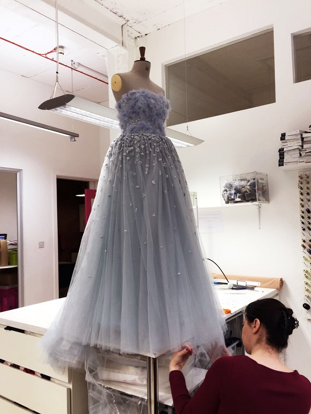 Tulle Dress Alterations London Fitting Rooms